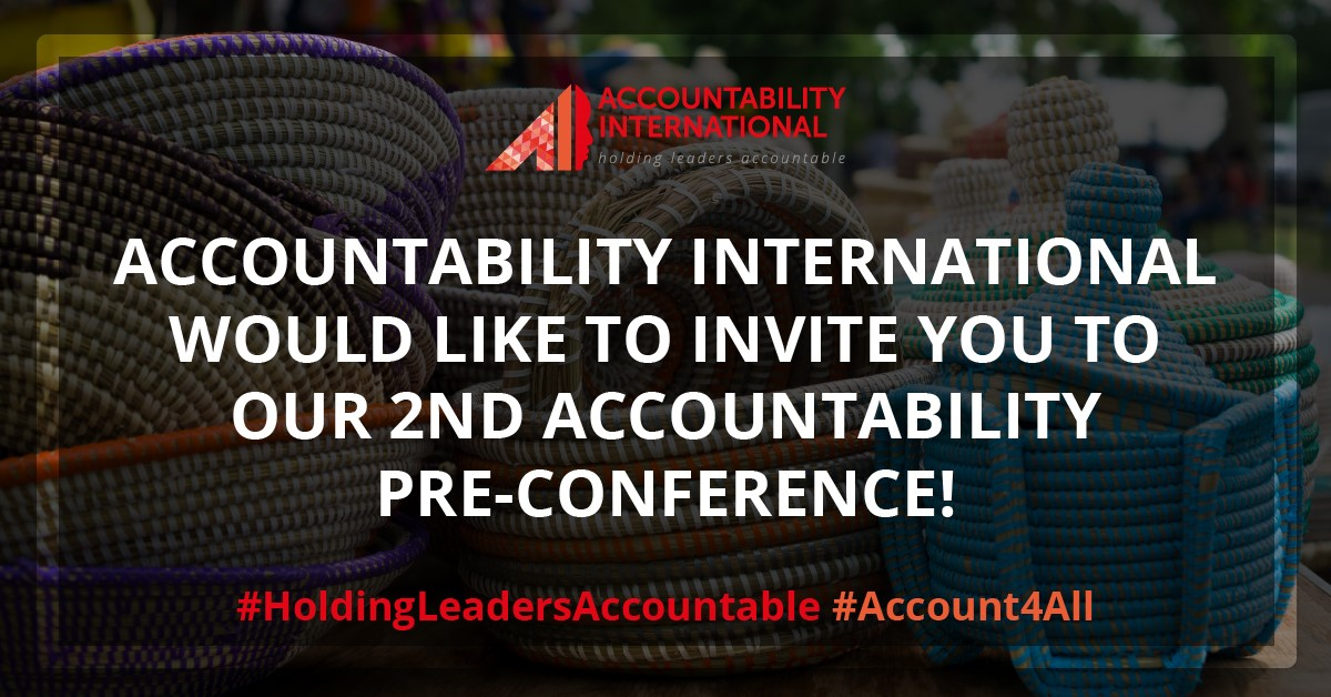Holding Leaders Accountable